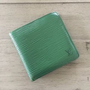 Louis Vuitton Bifold Epi Marco Wallet